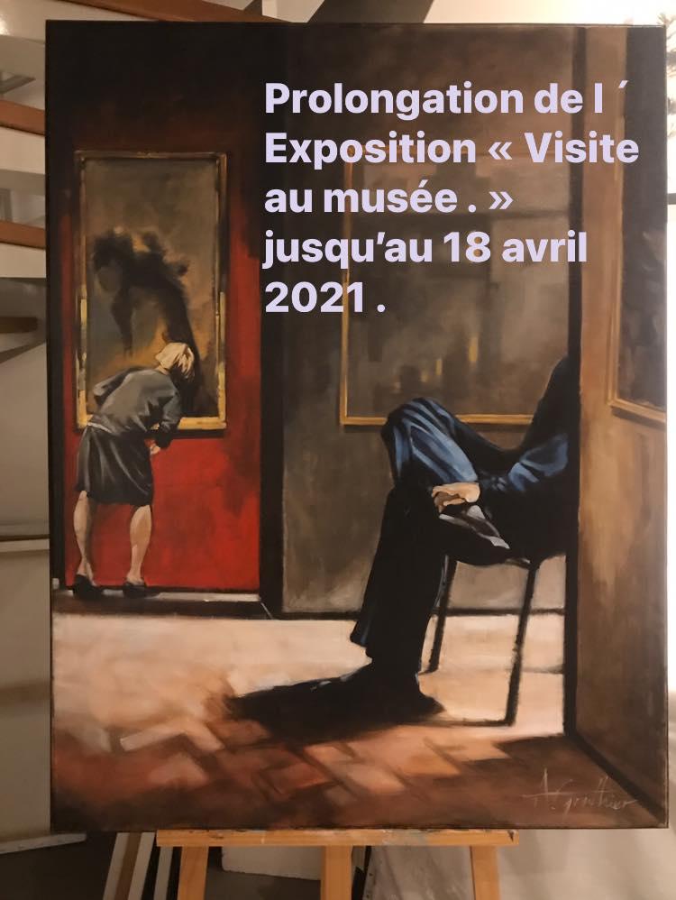 Prolongation exposition de Alain Gonthier à Saint-Prix