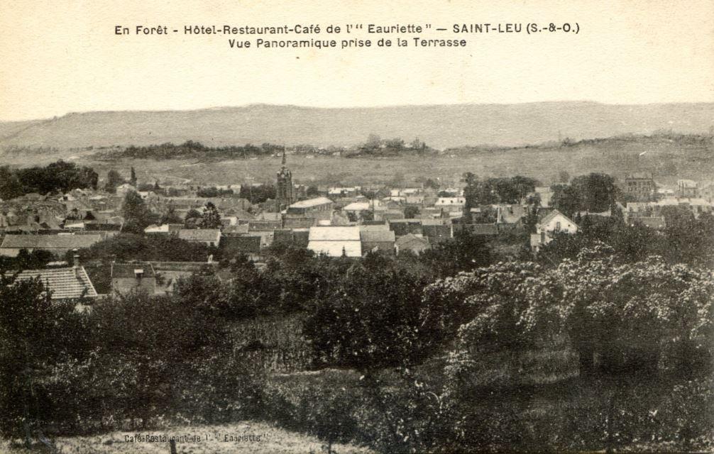 Vue panoramique depuis