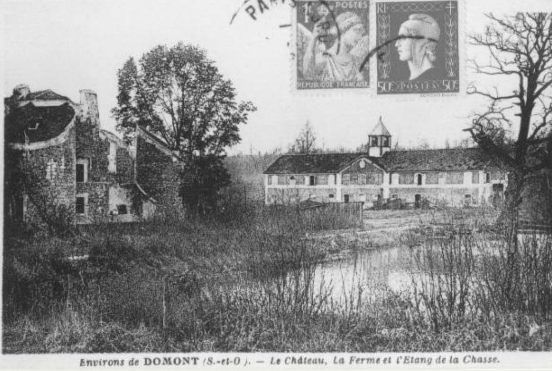 La ferme sainte-Radegonde à côté du Château de la chasse
