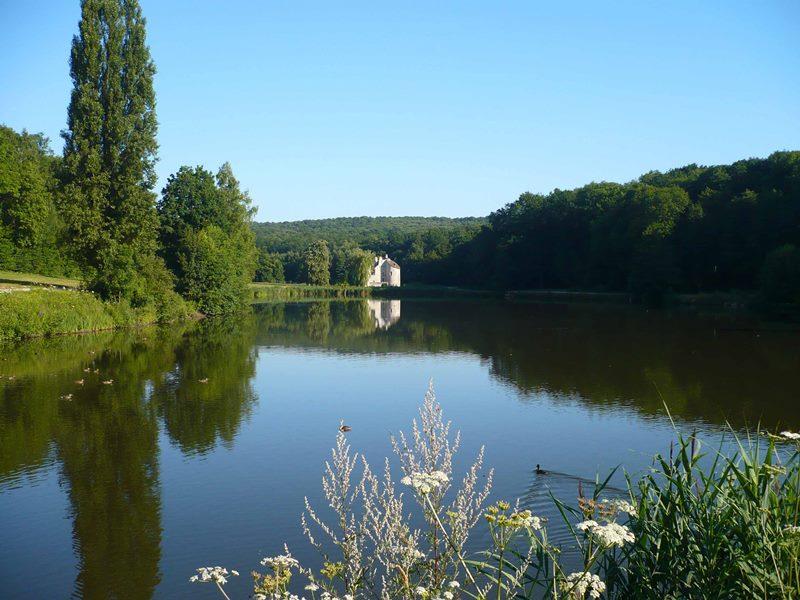 L'étang du Château de la Chasse
