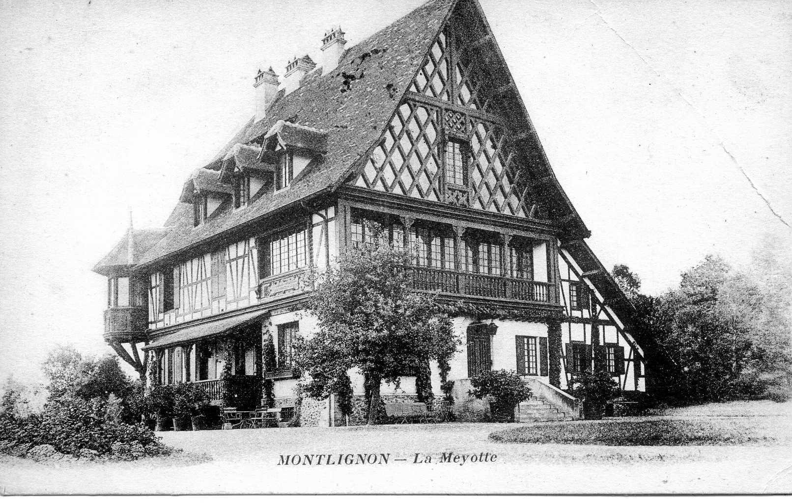 La villa Mayotte à Montlignon