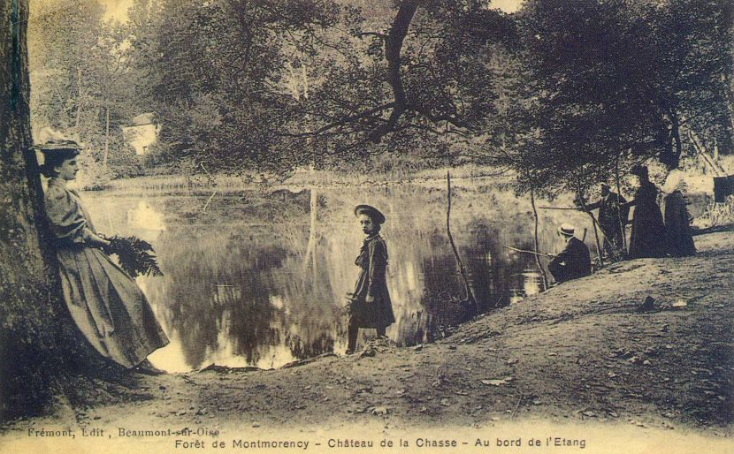 Etang du Château de la Chasse de la Forêt de Montmorency