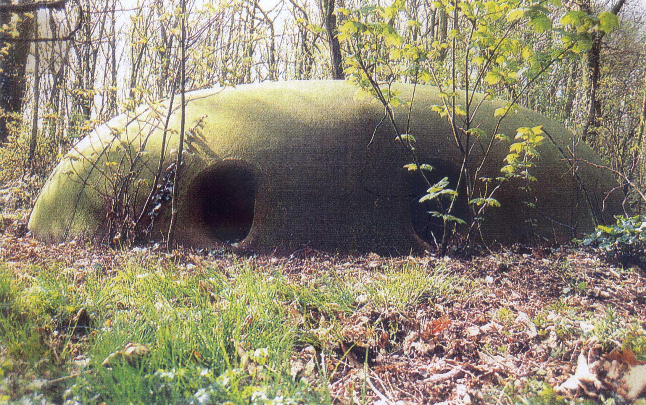 La coupole cuirassée du Fort de Domont