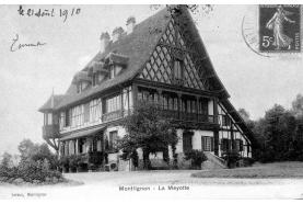 Histoire Forêt de Montmorency > La Villa Mayotte: un «coin des Vosges» à Montlignon!
