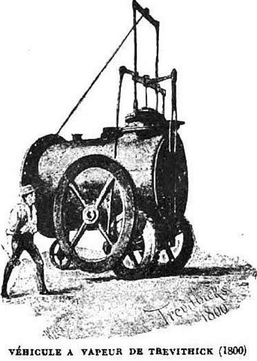Véhicule à vapeur de Trevithick
