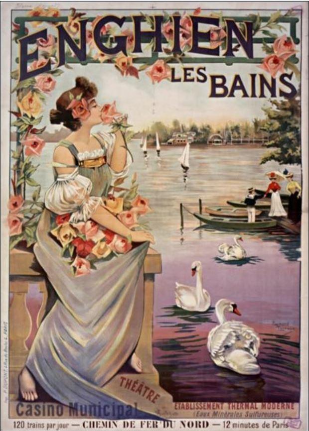 Publicité pour Enghien-les-Bains