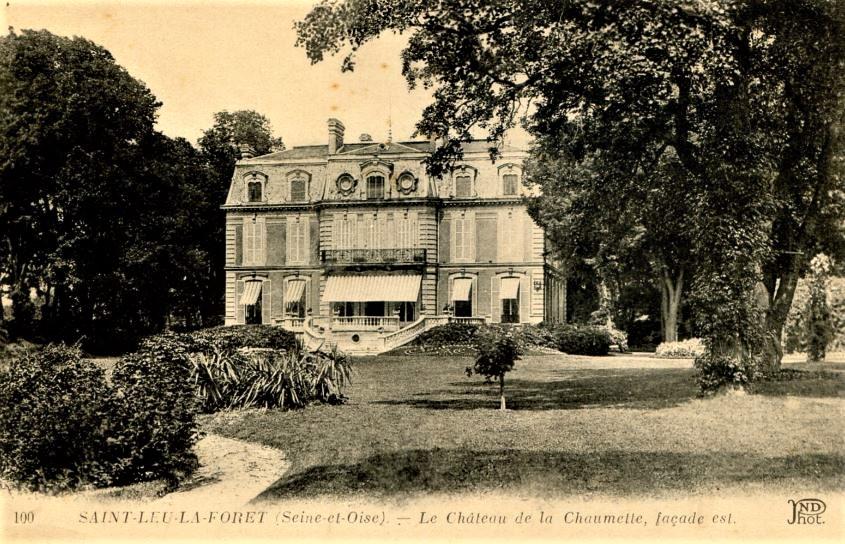 Château de la Chaumette de saint-Leu-la-Forêt