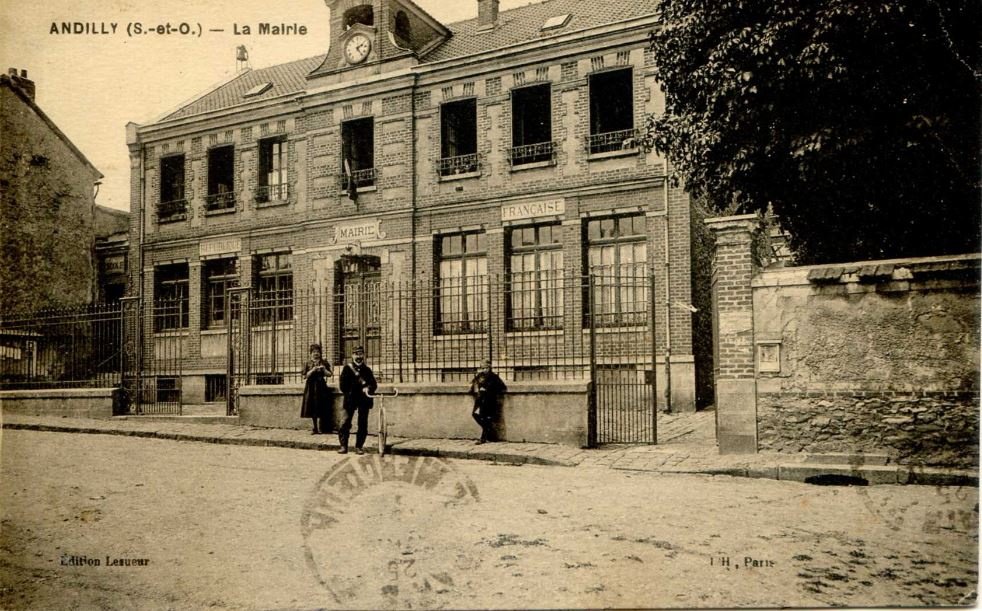 Ancienne mairie d'Andilly