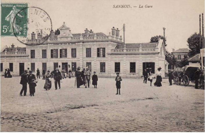 Gare de Sannois (issu du site Photimages)