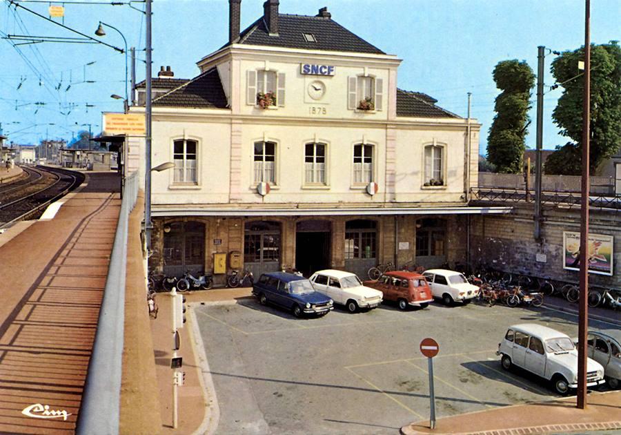 Gare d'Ermont-Eaubonne (issue page facebook Quartier de la gare d'Ermont-Eaubonne)