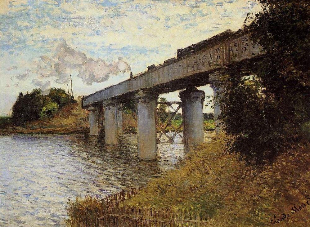 Pont d'Argenteuil - Claude Monet