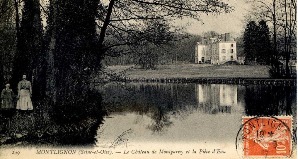 Pièce d'eau (rue de Montlignon) à Maugarny