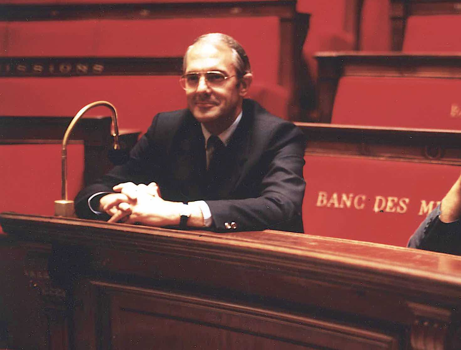 Hervé Collet à l'Assemblée Nationale