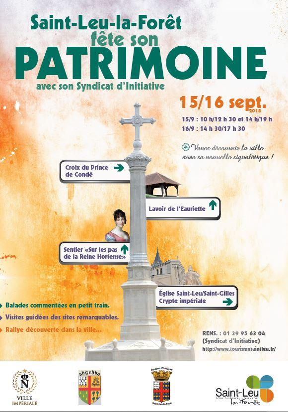 Journées du Patrimoine à Saint-Leu-la-Forêt