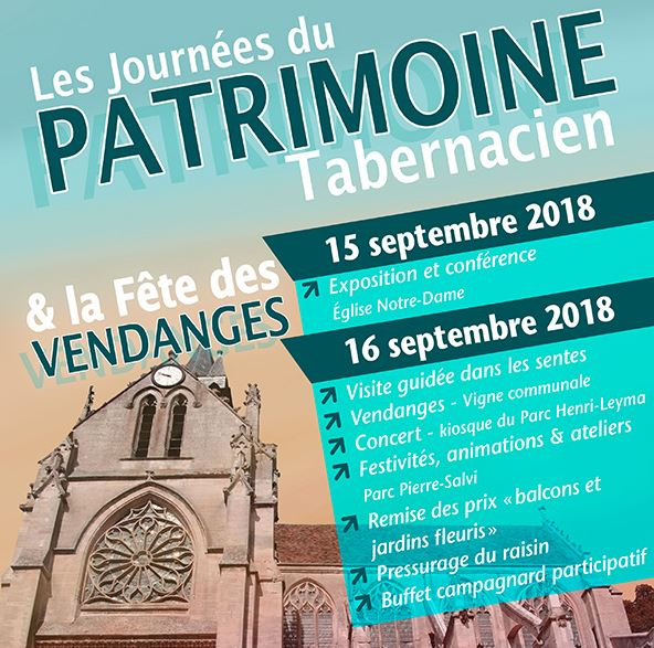 Journées du Patrimoine Taverny 2018