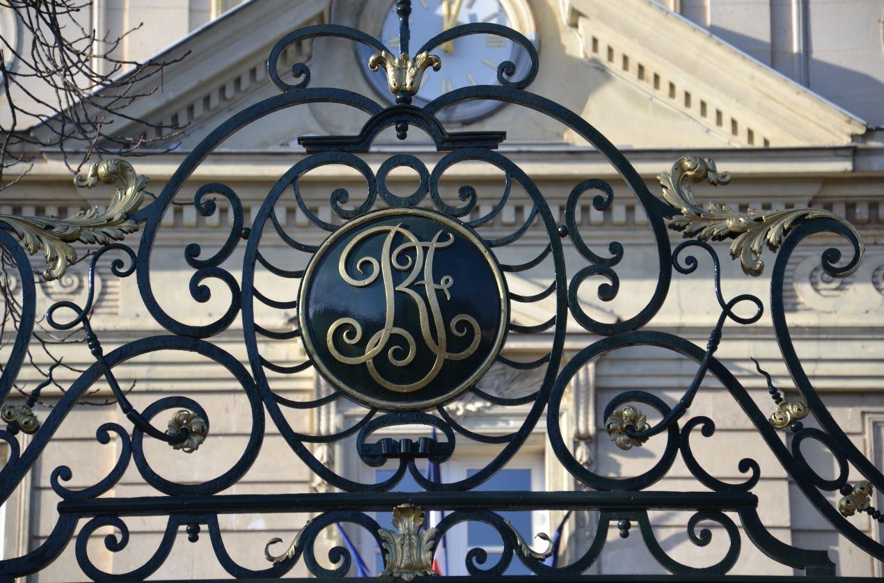 Initiales RF - Mairie de Montmorency