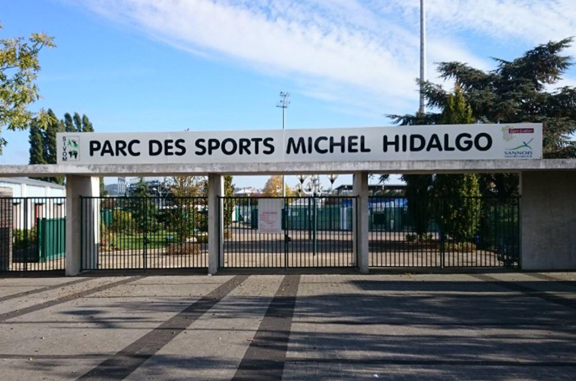 Stade Michel Hidalgo (photo issu site Handball Sannois Saint-Gratien)
