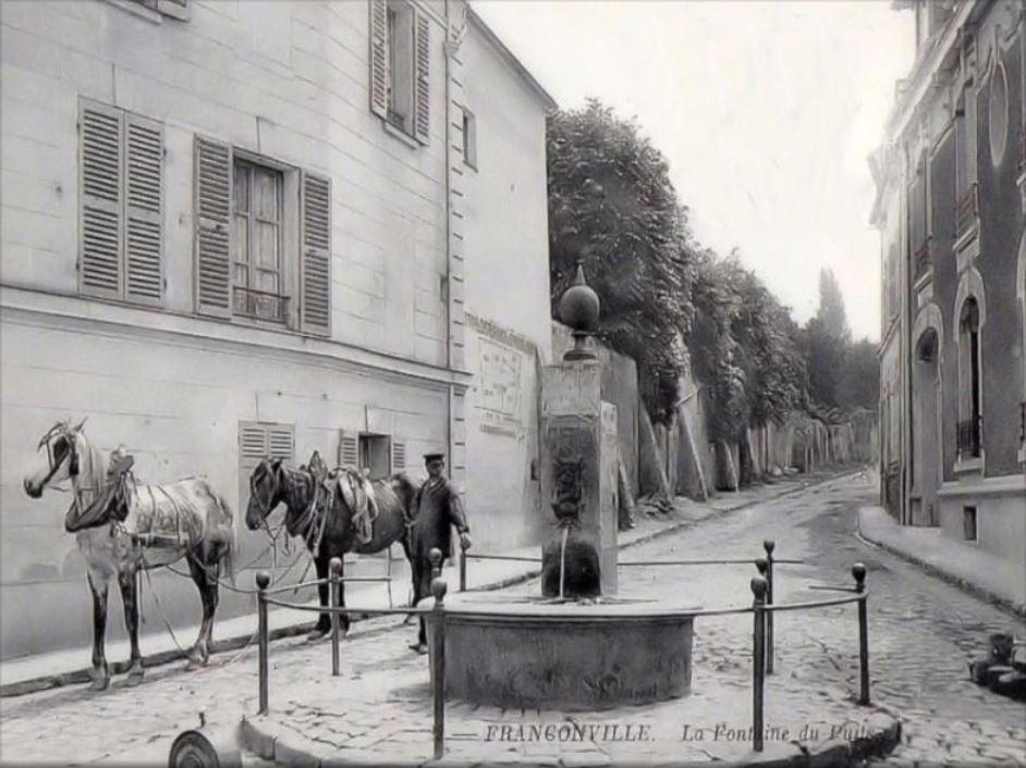 Fontaine du puits à Franconville (photo issue site de l'AEPPF)