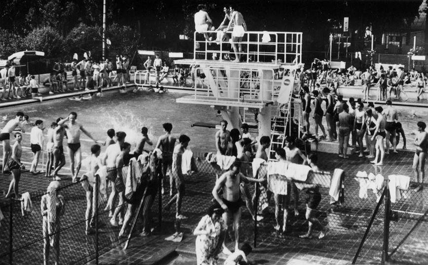 Une piscine ciel ouvert construite ermont en 1935 for Piscine eaubonne