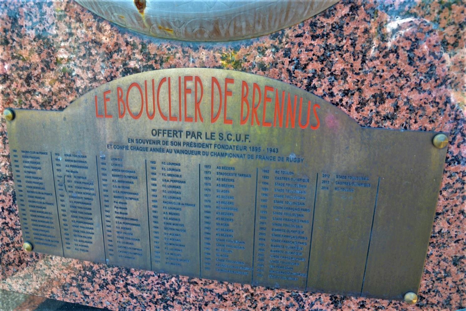 Bouclier de Brennus à Franconville