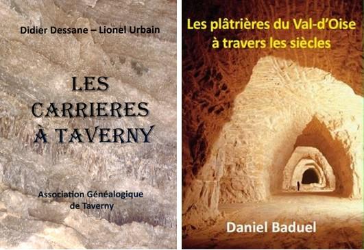 Deux livres consacrés aux carrières plâtrières