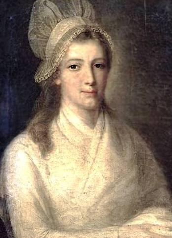 portrait de Charlotte Corday signé Hauer