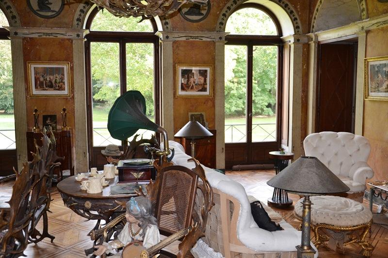 Intérieur du Château de Boissy à Taverny