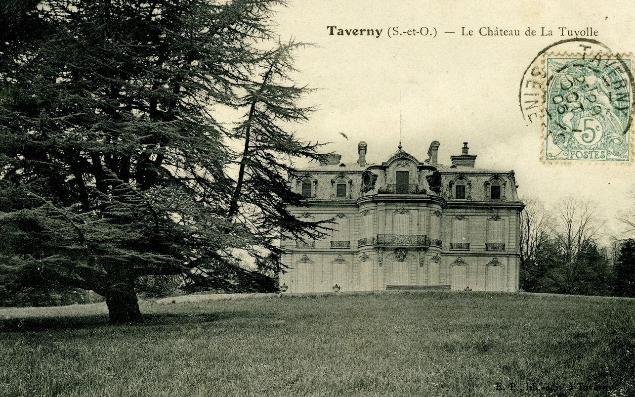 Chateau de la Tuyolle - carte postale