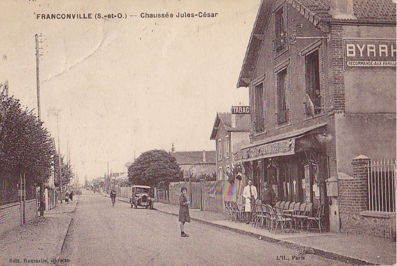 La Chaussée Jules César de Franconville