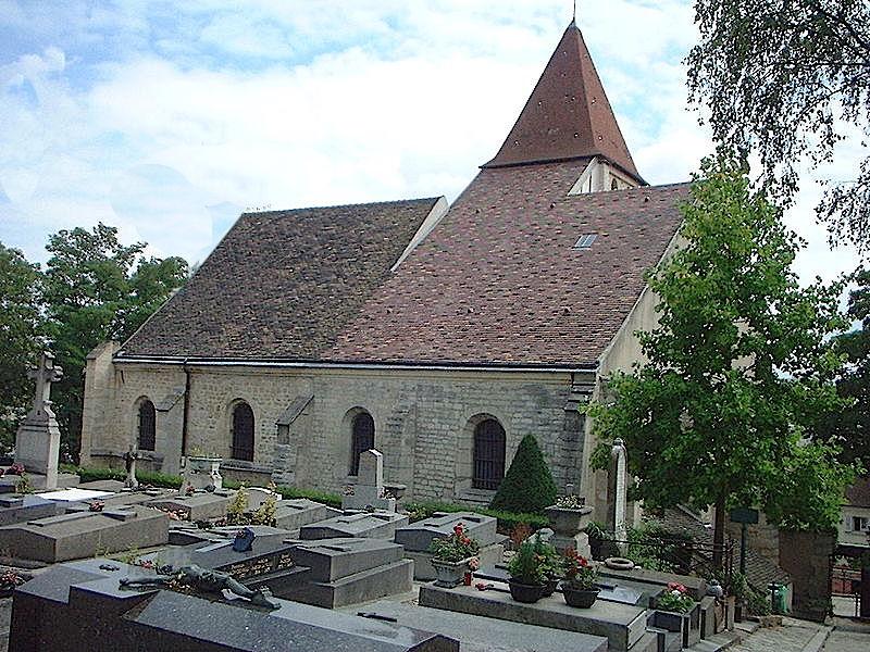 Cimetière de l'église Sainte-Marie
