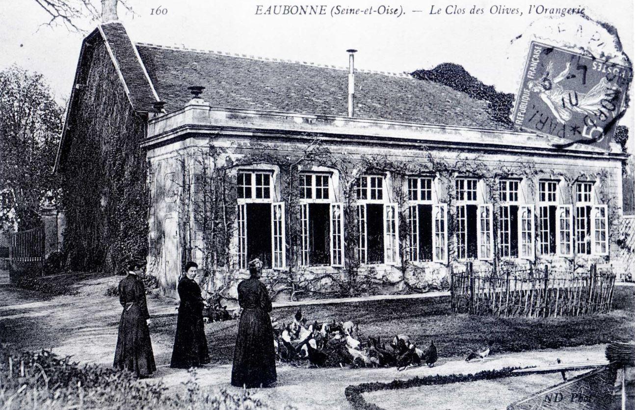 Orangerie du Clos de l'Olive à Eaubonne