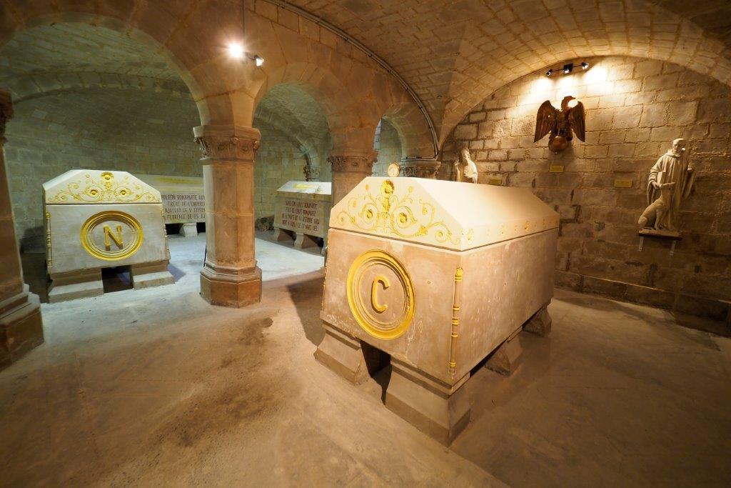 Crypte impériale de Saint-Leu-la-Forêt
