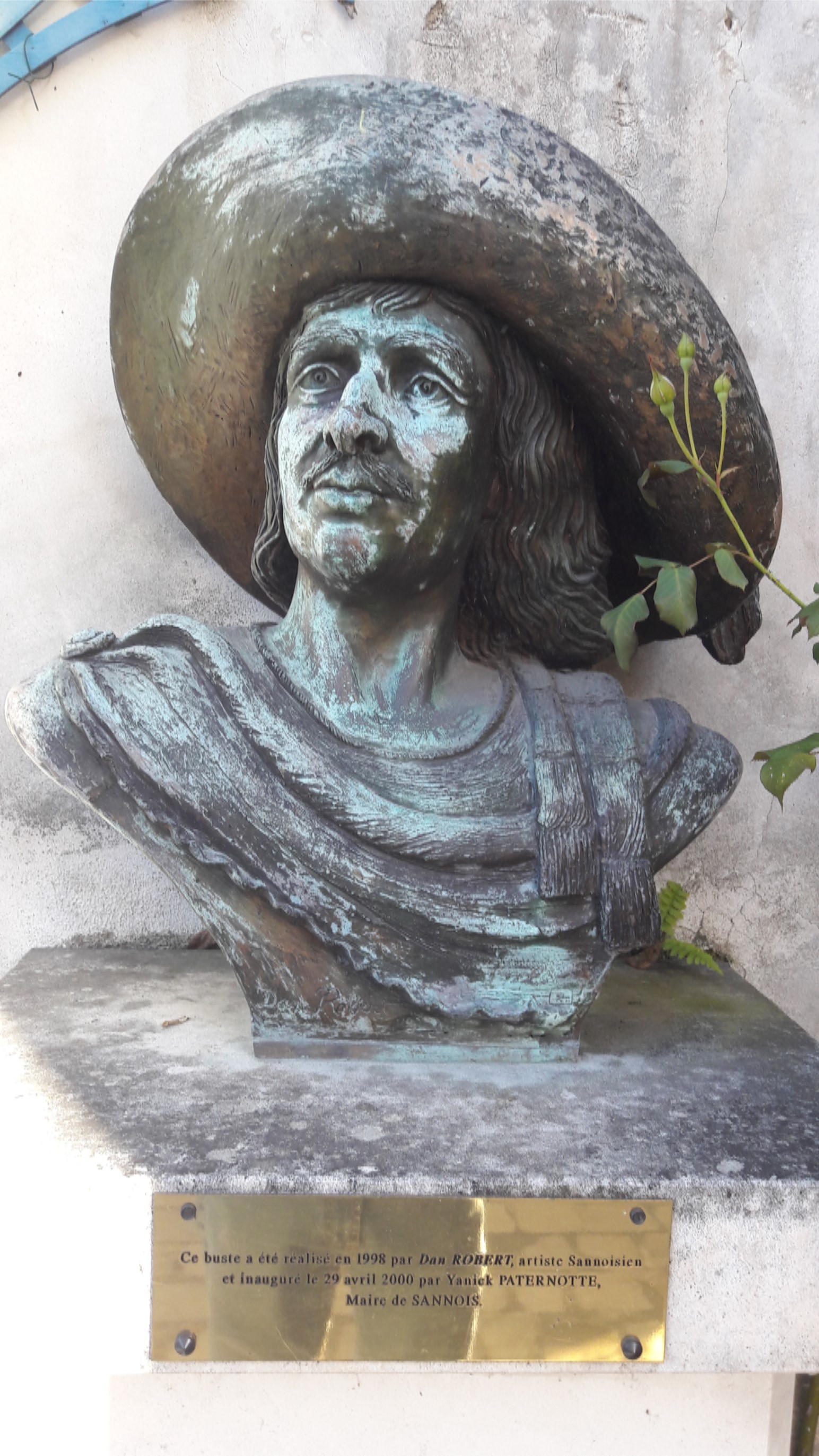 SAVINIEN DE CYRANO DE BERGERAC - Buste de Dan Robert