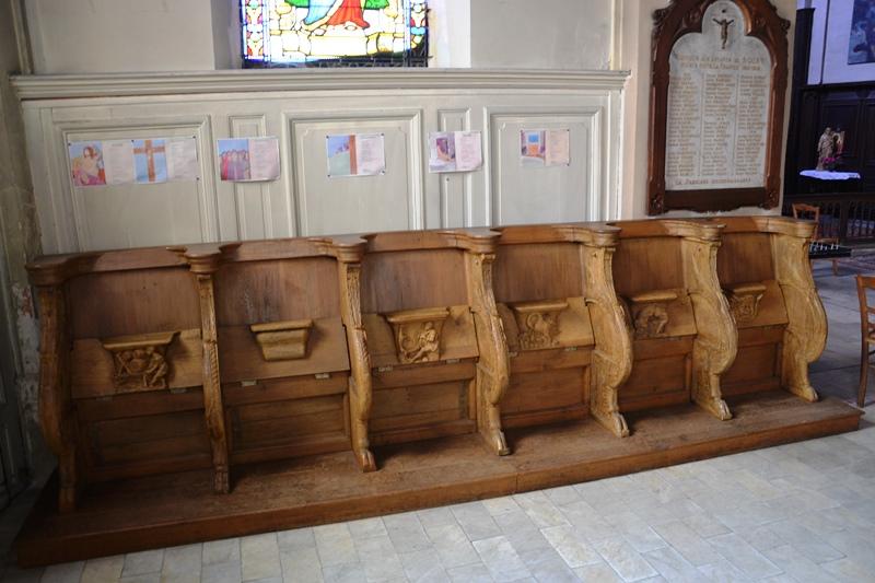 Stalles de l'église de Soisy-sous-Montmorency