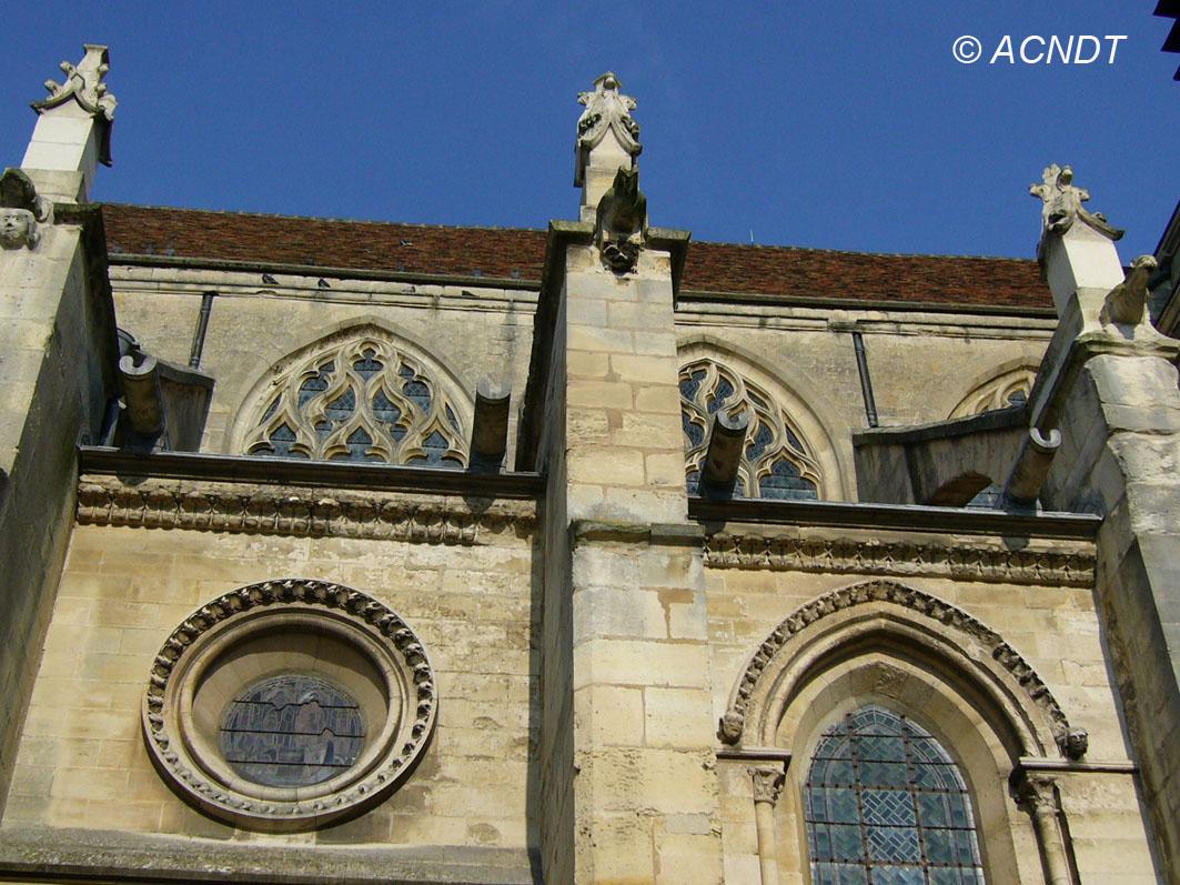 Façade de l'église de Taverny (Association Culturelle Notre-Dame de Taverny)