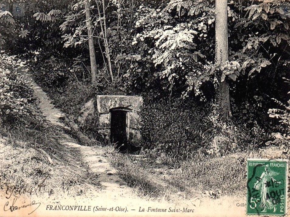 Fontaine Saint-Marc à Franconville (photo issue du site AEPPF)