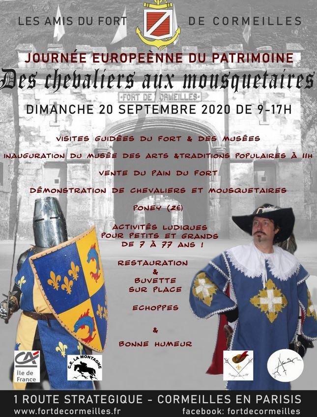 Journée du Patrimoine 2020 - Fort de Cormeilles-en-Parisis