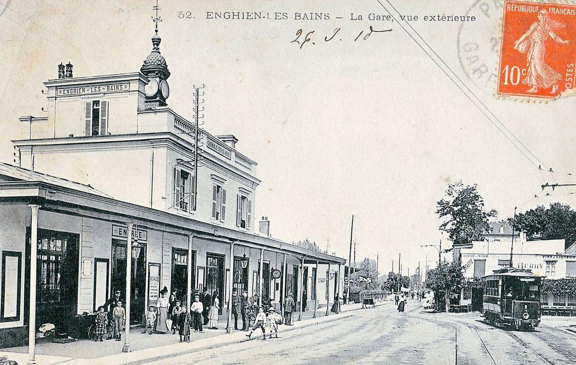 Gare d'Enghien-les-Bains