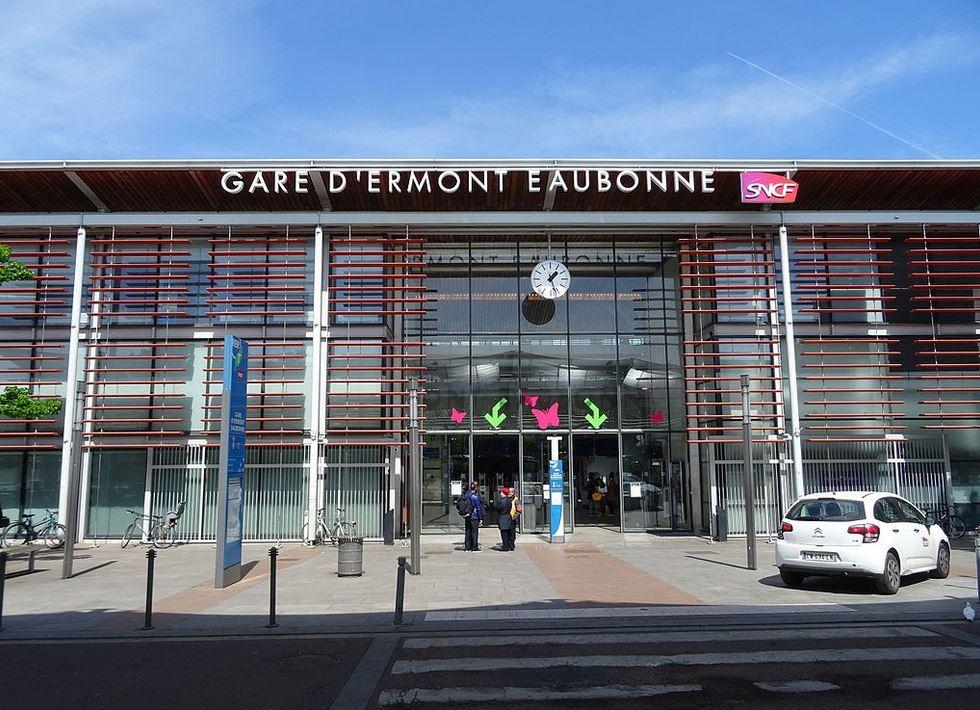 Gare d'Ermont-Eaubonne actuelle (photo issue page wikipedia)
