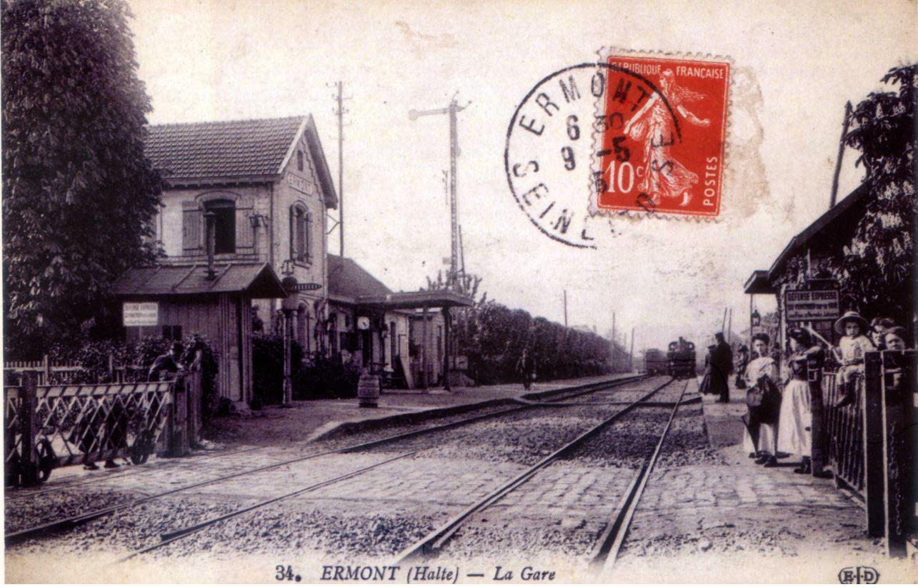 Gare de Ermont-halte