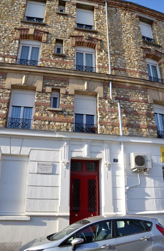 immeuble à Saint-Leu où Eyvind Johnson résida.