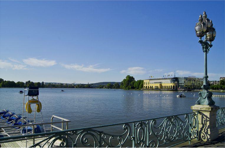 Le lac et le Casino d'Enghien