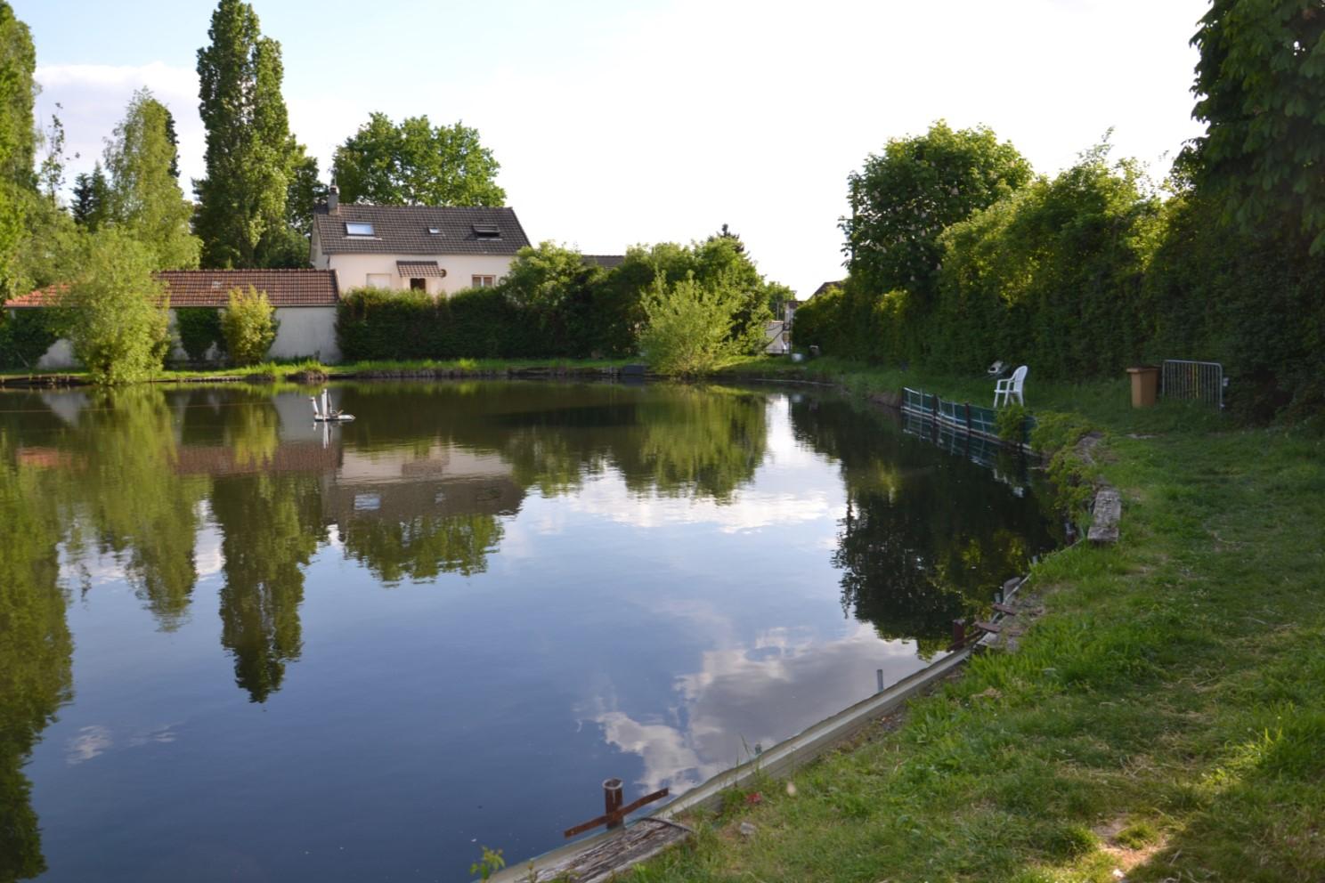 Mai 2018 - Le lac Marchais à Deuil-la-Barre