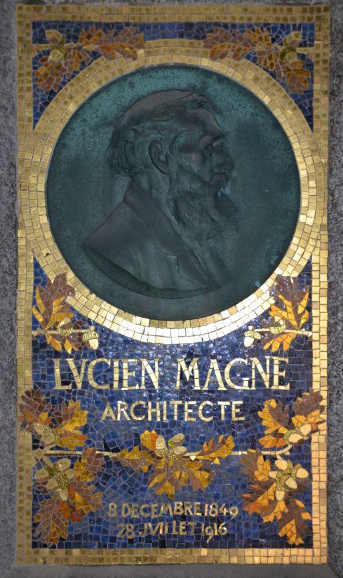 Tombe de Lucien Magne au cimétière d'Eaubonne