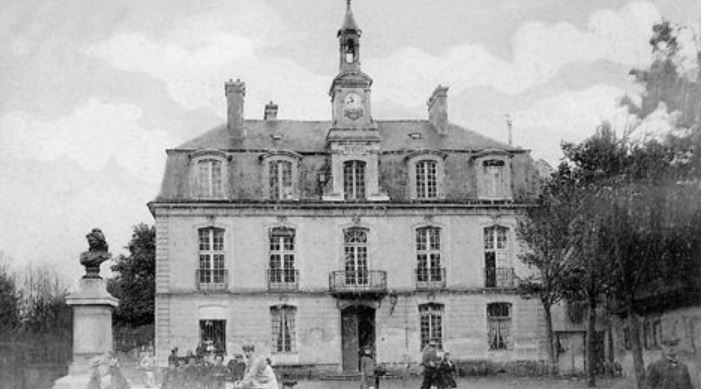 Cate postale Ancienne mairie de Sannois (source photimages.canalblog.com)