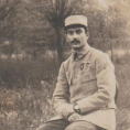Marie-Thérèse Lhonoré, historienne de Deuil-la-Barre, redonne vie au carnet de campagne (1914-1915) du Caporal Camille Nérisson.