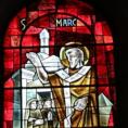 Les vitraux de l'église Sainte Madeleine mis en lumière par les historiens de Franconville!
