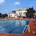 Il y a quarante ans, une piscine était inaugurée devant le Casino d'Enghien…