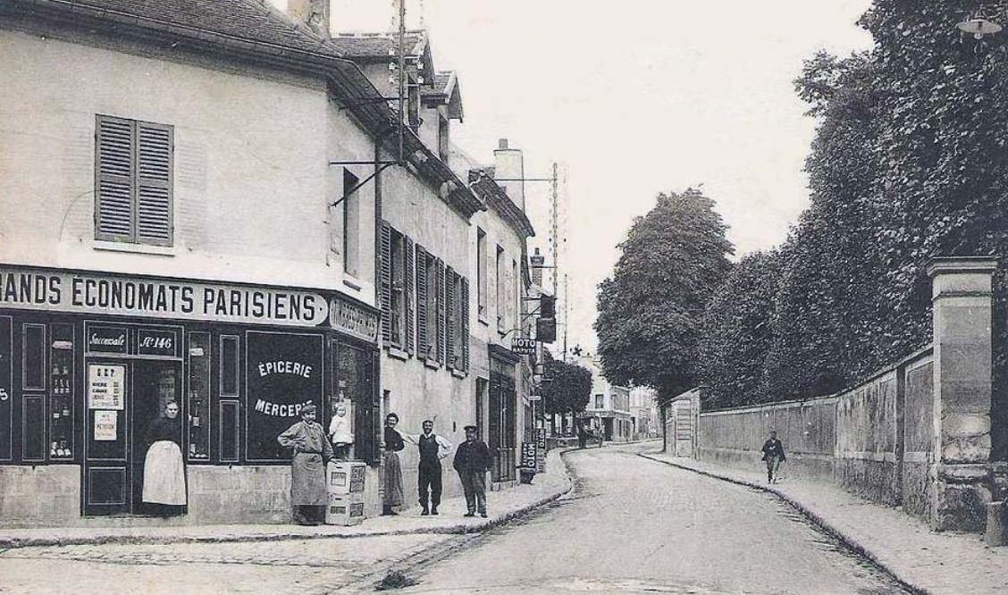 Rue de Paris à Montlignon