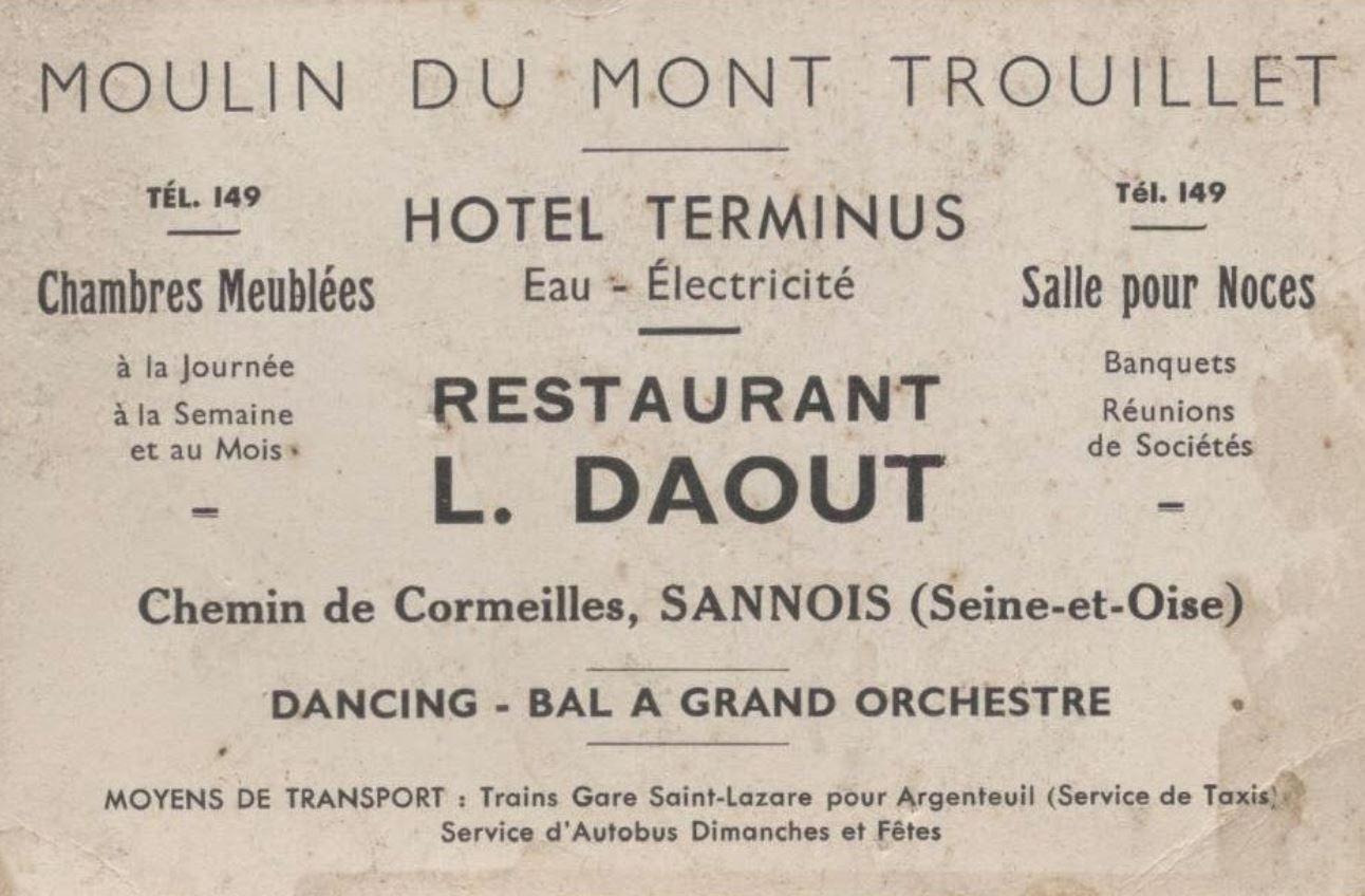 Moulin du Mont Trouillet - Hotel Terminus